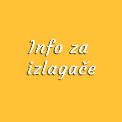 Info za izlagače